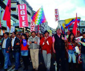 Exitosa Movilización Nacional del 11 Noviembre, previo a las acciones de hecho en Diciembre 2015