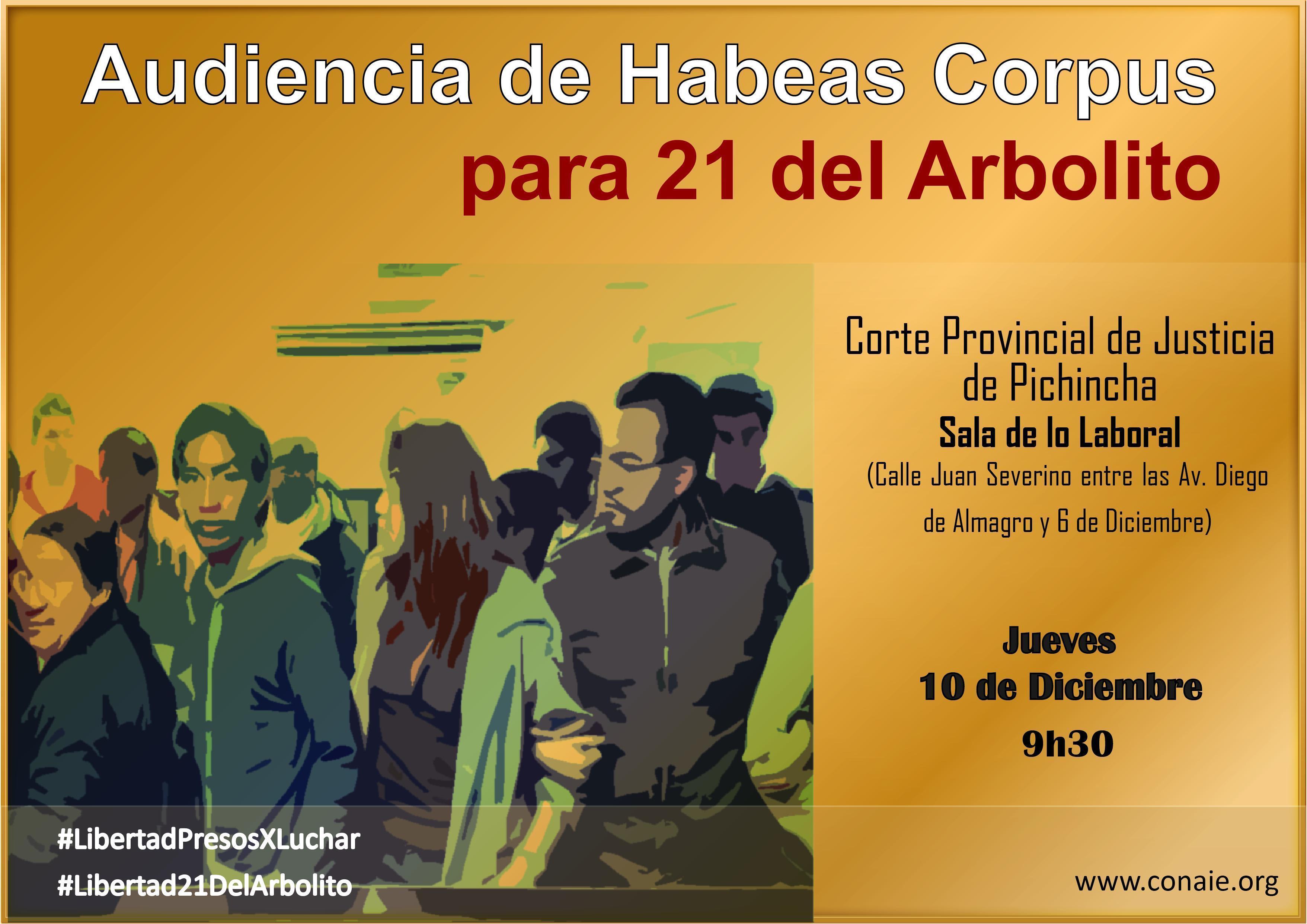 Audiencia Habeas Corpus