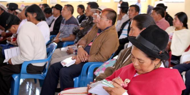 Audiencia pública entre CONAIE y Estado Ecuatoriano