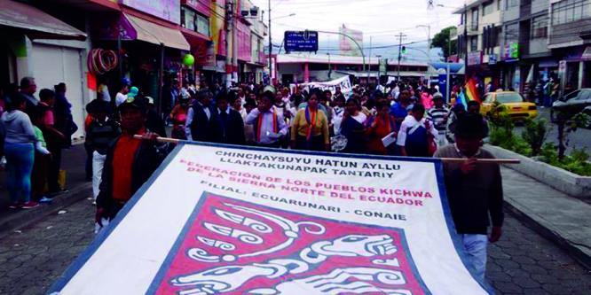 Pueblos del Norte rechazan enmiendas y convocan a movilizarse el 2 y 3 de diciembre