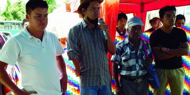 Siete luchadores sociales son llamados a juicio en Pastaza por el caso 13A