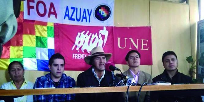 Organizaciones de la sierra sur ratifican participación en la jornada de lucha