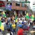 Vigilantes ante audiencia de Juicio contra procesados del 13A en Pastaza