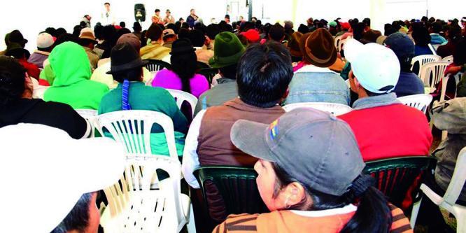 NO AL PAQUETAZO AGRARIO Y LA MODERNIZACIÓN CONSERVADORA DEL CAMPO ECUATORIANO