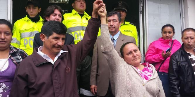 Tribunal de Bolívar ratificó la inocencia de Manuel y Manuela