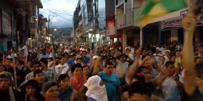Organización regional de la Amazonía, Confeniae, indignado ante eliminación de Adherencia Colectiva