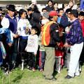 Pueblo Kayambi aplica justicia indígena al responsable de quema del páramo en CUSIN