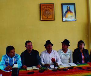 Conaie, Red Agraria y demás organizaciones del sector campesino realizarán Cumbre Agraria en 2016 y reiteran su rechazo a la Ley de Tierras