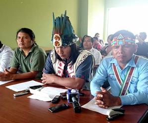 Nacionalidades de Pastaza rechazan licitación petrolera en sus territorios y se solidarizan con el pueblo de Taisha