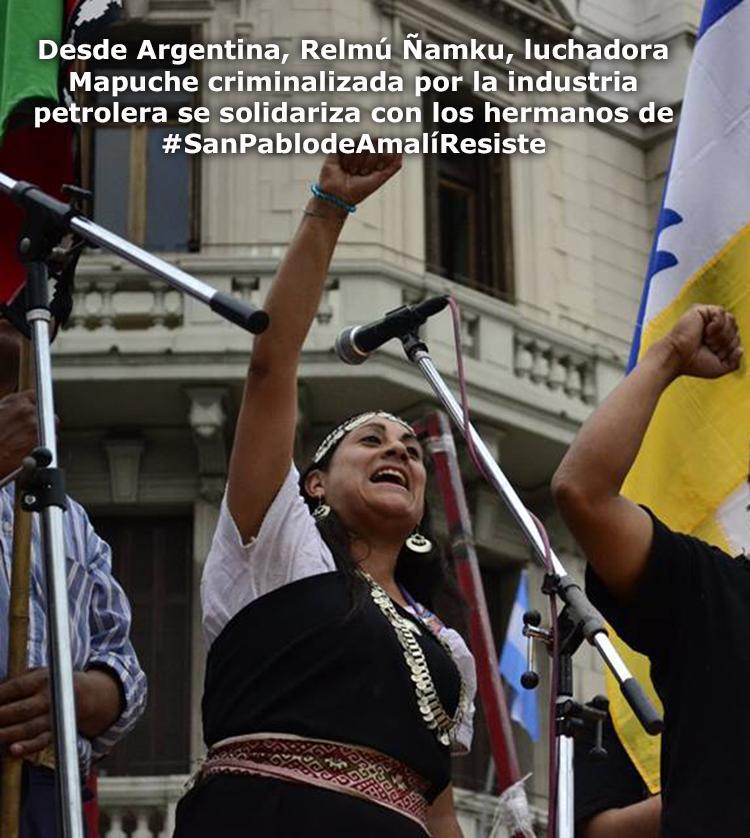 Relmú Ñamku-Solidaridad