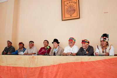 Nacionalidades de la Amazonía centro sur rechazan firma del contrato de exploración y explotación de los bloques 79 y 83