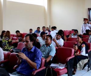 Comunidades, nacionalidades y organizaciones anti extractivismo se reunieron en Sucúa