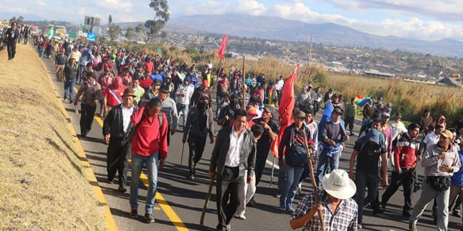 Audiencias en la CIDH: Jornada de solidaridad con las luchas sociales en Ecuador