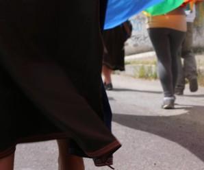 La caminata de los Pueblos del norte avanzan a Quito