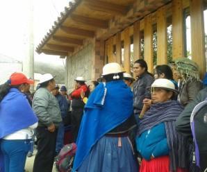 4 campesinos en Cañar son sentenciados a 3 meses con 10 días de cárcel