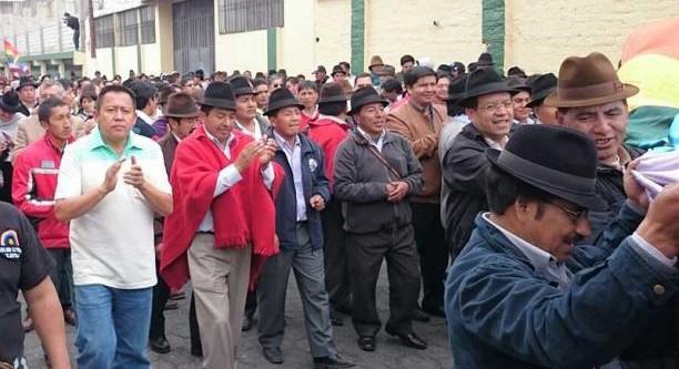Movimiento  Indígena y Campesina de Cotopaxi conmemora los 25 años del primer levantamiento Indígena