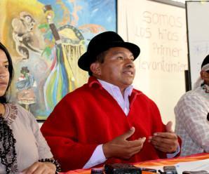 Suspensión de desalojo sede de CONAIE no apaciguará lucha del movimiento indígena, obrero y social