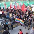 Organizaciones Shuar y Achuar de Morona protestan en Vía Macas- Puyo