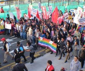 La marcha del 17 de marzo será el inicio de las Jornadas de Resistencia en este 2016 en Ecuador