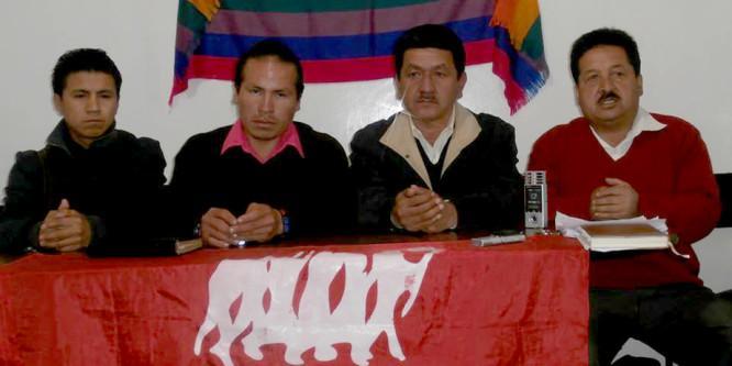 Movimiento Indígena, sindicatos y organizaciones sociales de Loja firmes para Levantamiento y Paro Nacional
