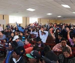 Movimiento Indígena y Organizaciones Sociales convocan a Levantamiento y Paro Nacional Indefinido