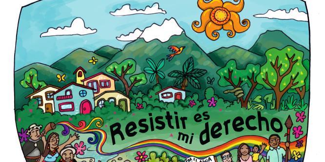 Campaña a favor de las personas criminalizadas por protestar