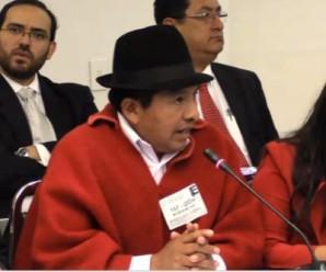 Pueblos indígenas denuncian ante la CIDH violación al derecho de la libertad de asociación en Ecuador