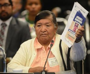 Madre de desaparecido pide justicia ante Comisión Interamericana de Derechos Humanos