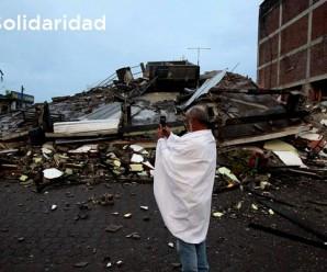 CONAIE se solidariza con afectados y afectadas por Terremoto 7.8 grados en Ecuador