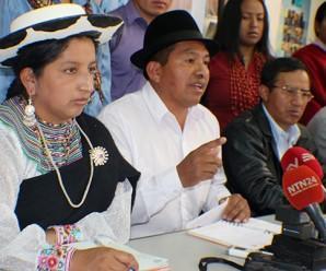CONAIE presentará pedido de Amnistía para criminalizados del Levantamiento de 2015