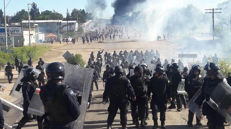 Represión - Oaxaca -regeneraciónradio