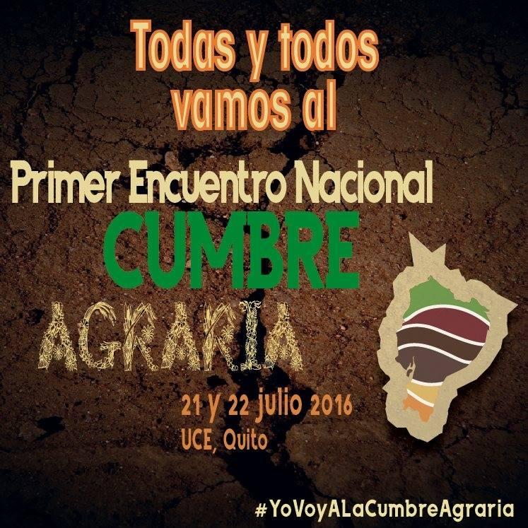 Cumbre Agraria Ecuador