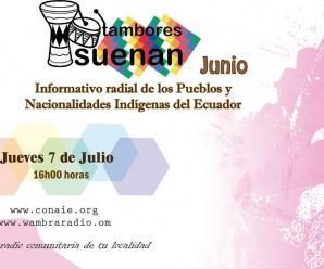 Radio Revista-Tambores Suenan-Junio
