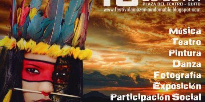 Conaie y organizaciones amazónicas invitan a RUEDA DE PRENSA al conmemorarse un año del Levantamiento Indígena y Paro Nacional 2015