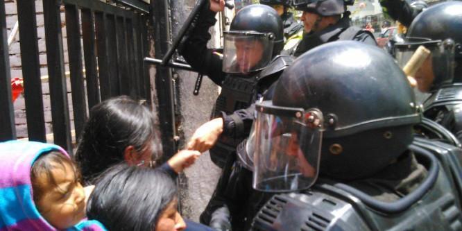 La CONAIE repudia la disolución ilegal e ilegítima de la Unión Nacional de Educadores – UNE Ecuador