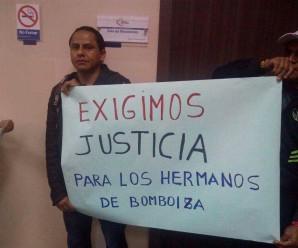Seis shuar de Bomboiza en audiencia de Juzgamiento por participar en el Levantamiento Indígena y Paro Nacional 2015