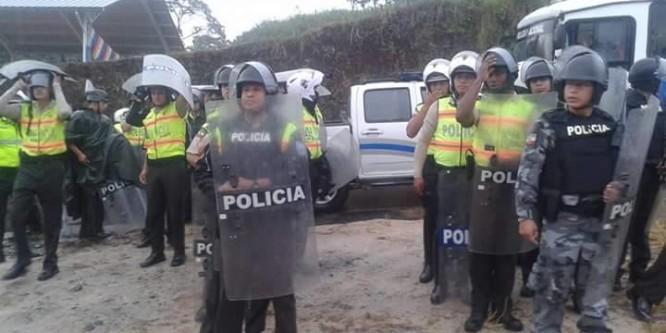 CONAIE condena invasión de la Policía a sede de Confeniae