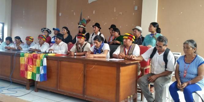 La lucha del pueblo de Nankints es la lucha de todos los pueblos y nacionalidades indígenas del Ecuador
