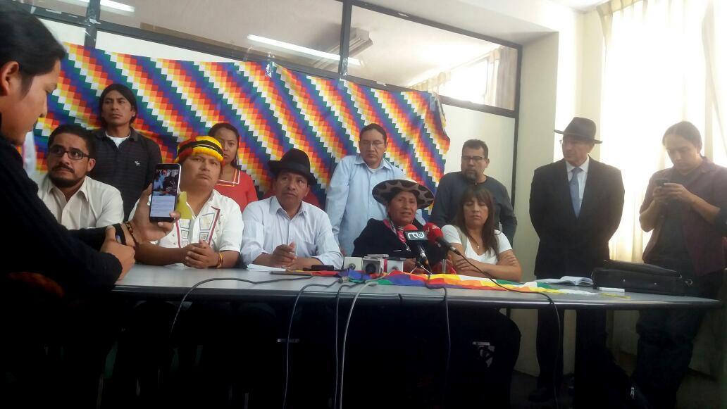 Respeto a la autodeterminación de los pueblos indígenas