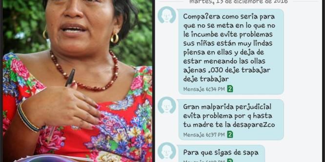 Amenazan de muerte a lidereza Wayuu Jakeline Romero