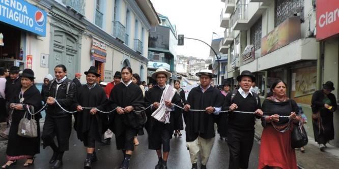 Miembros del pueblo Saraguro nuevamente llamados ante la justicia de Ecuador