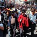 Multitudinaria marcha del Movimiento Indígena y Campesino de Cotopaxi