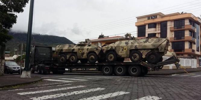 """Confeniae alerta sobre presencia de """"tanques de guerra"""" en Morona Santiago"""