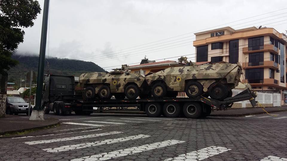 Frente a militarización