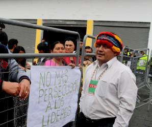 Niegan recurso de apelación para Agustín Wachapá, máximo líder shuar