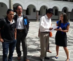 CONAIE se reunió con arzobispado de Conferencia Episcopal Ecuatoriana