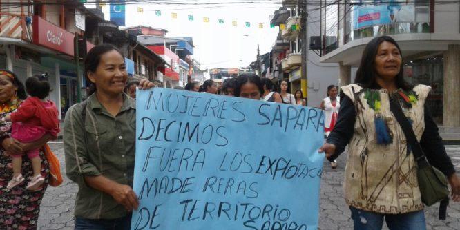 Mujeres Indígenas del Ecuador se suman al Paro Internacional en el Día Internacional de las Mujeres