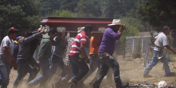 Indígenas de Michoacán condenan la agresión policial en Arantepacua