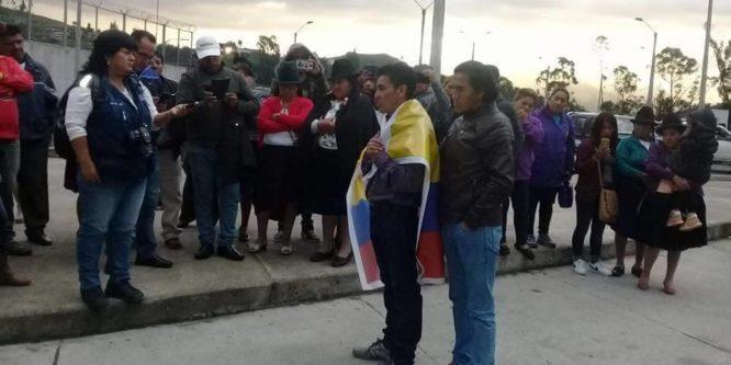 Indígena de Nabón recupera su libertad tras cumplir injusta sentencia