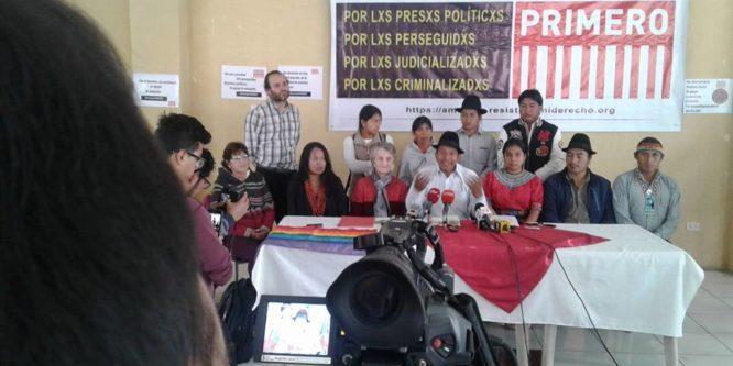Aministía Primero: campaña por los/as criminalizados/as del Ecuador
